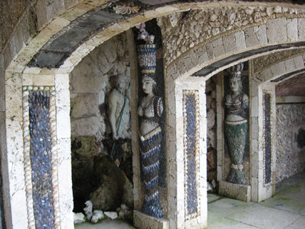 Cherkley Court shell grotto by Belinda Eade 2007
