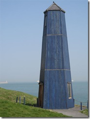 Sustrans samphire-tower jony westerby and pippa taylor Chalk Channel way brass telescope1