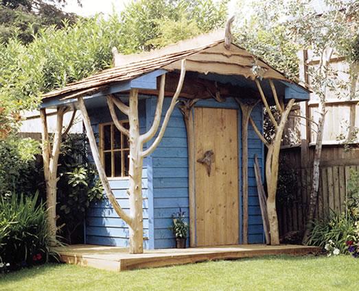 Pure folly but fun folly shed the folly fancier for Garden folly designs