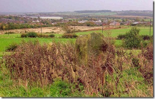 Brierely gap view from Fake sstanding stone to south kirby hill fort image by mothy 271005 mod antiq website