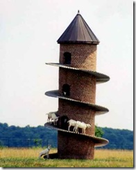 Goat tower selby Illinois
