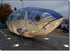 big fish donegall quay belfast aubrey dale geograph