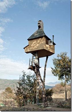 Fujimori treehouse